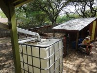 Behälter für Regenwasser